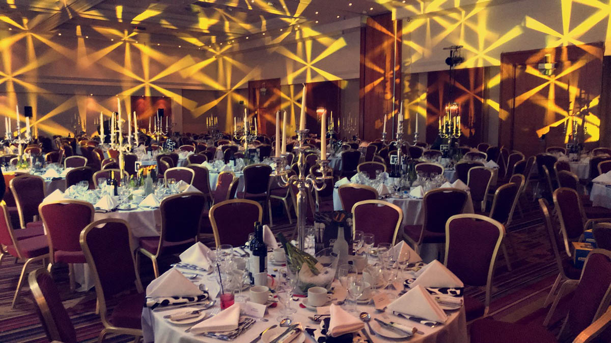 gala dinner organised by corporate event planner birch associates
