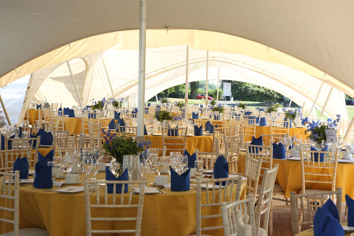 venue decorated by private event planner birch associates