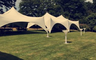event marquee provided by private event planner birch associates
