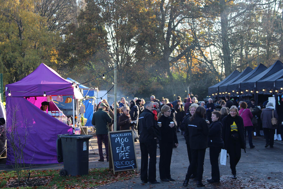 christmas market organised by community event planner birch associates