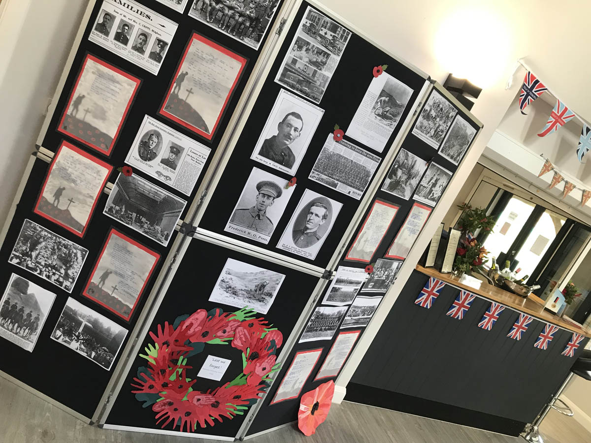 remembrance day event planned by charity event organiser birch associates