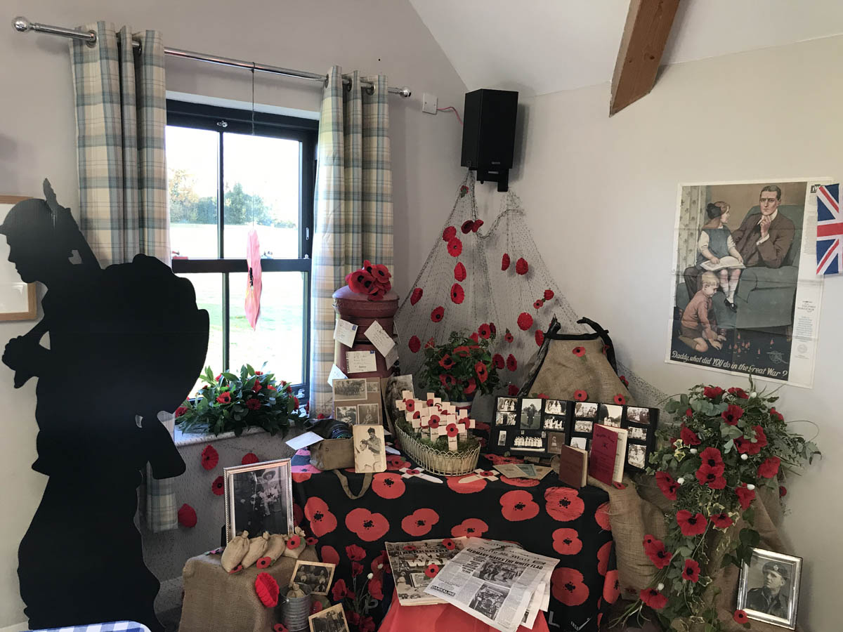 remembrance day event planned by community event organiser, birch associates