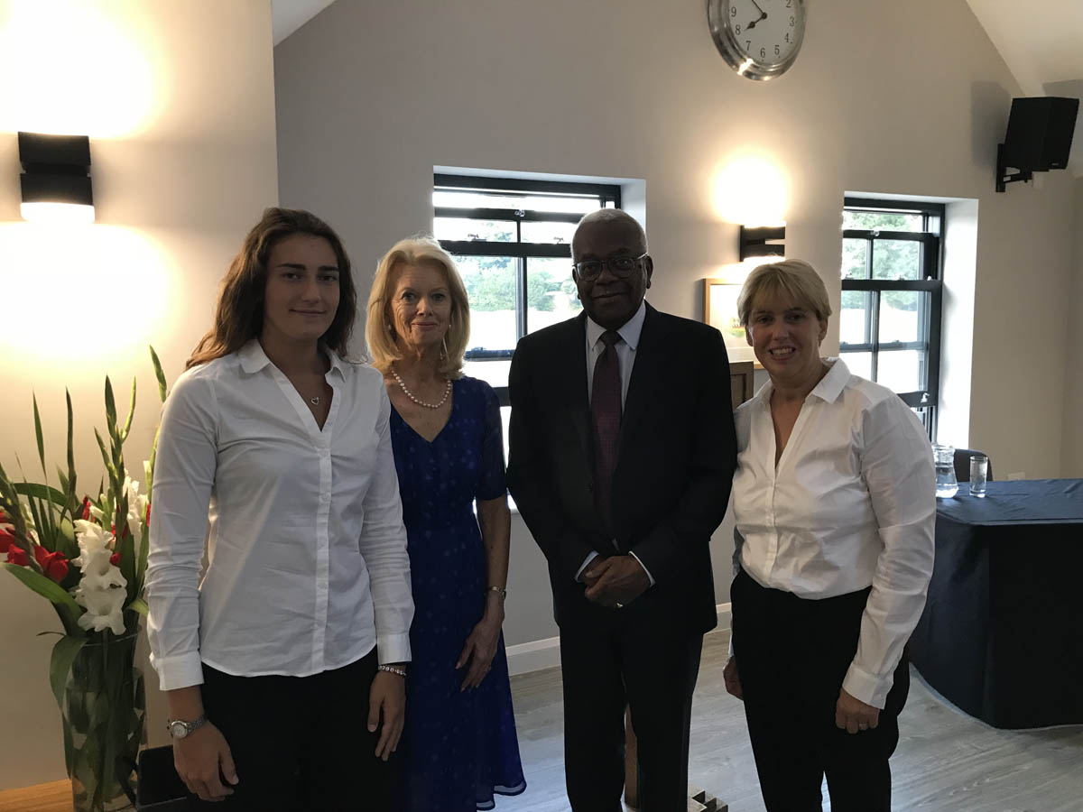 birch associates community event planners with Trevor McDonald